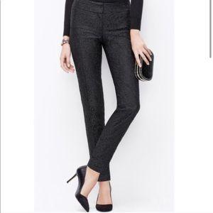 Ann Taylor Slim Ankle Lace Pant